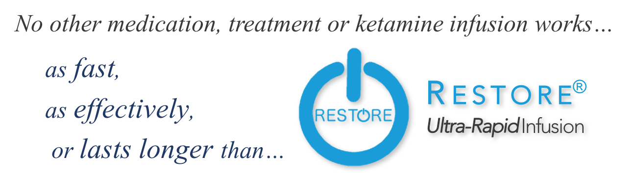 Restore is the most effective infusion