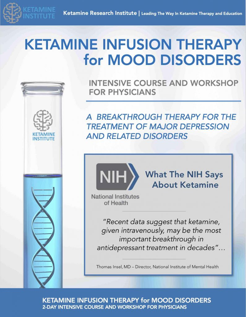 Ketamine Institute - The RESTORE Infusion - The new
