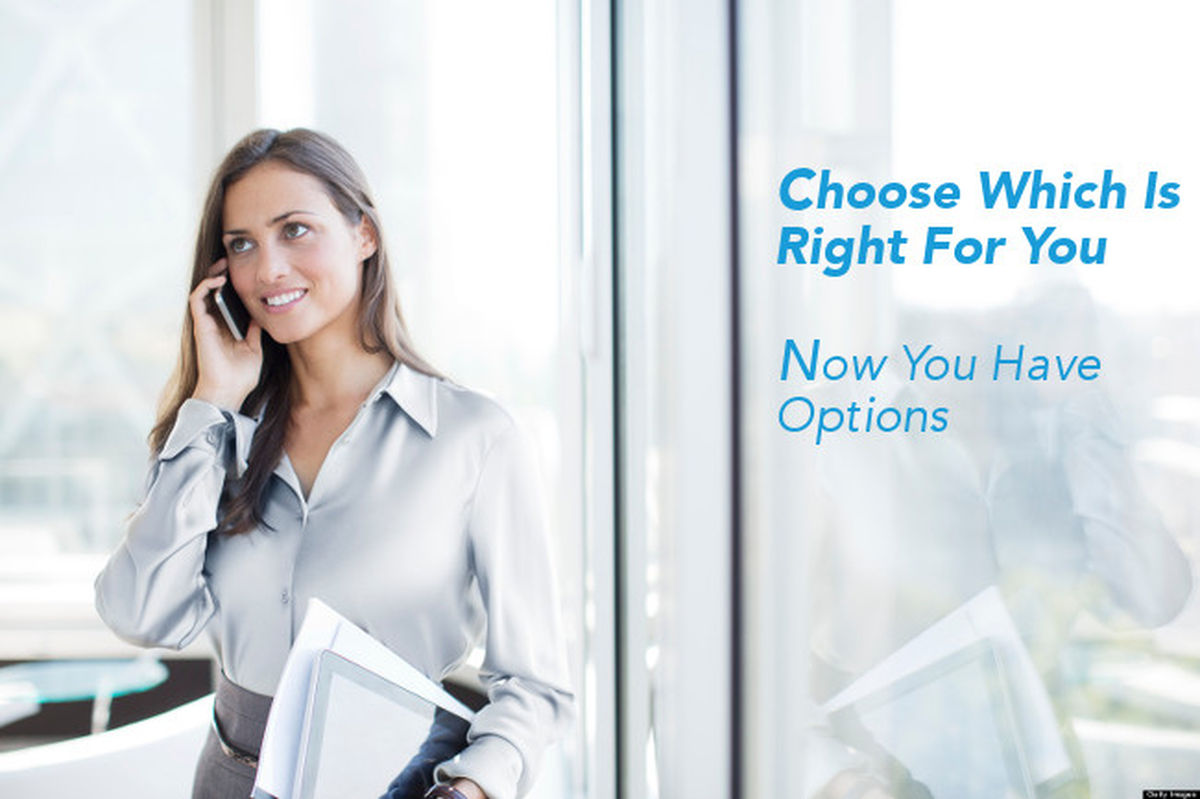 chosse what is right for you